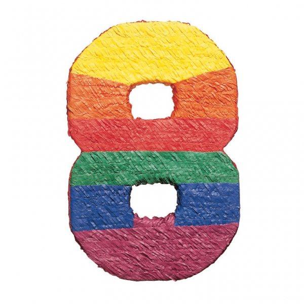 Number 8 Piñata