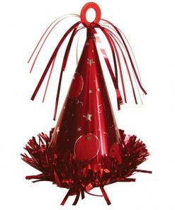 Large Red Party Hat Weight