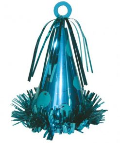 Large Turquoise Party Hat Weight