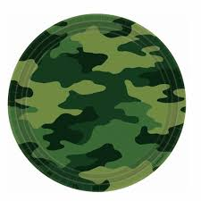 Buy Cheap Army Camo Party Decorations here in the uk