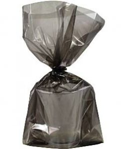Black Large Cellophane Party Bags