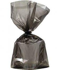 Black Large Cellophane Party Bags