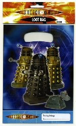 Doctor Who Party Plastic Party Bags