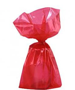 Red Small Cellophane Party Bags