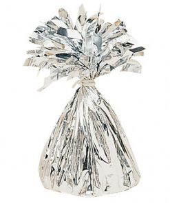 Silver Foil Balloon Weight