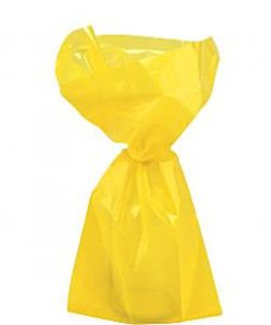 Yellow Small Cellophane Party Bags