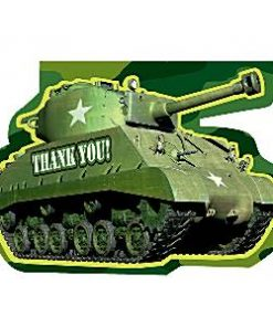 Army Camouflage Party Thank You Cards