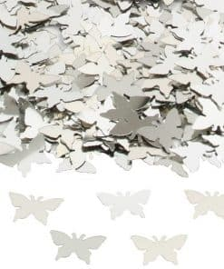 Silver Butterflies Table Confetti