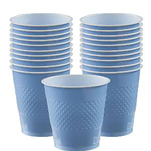 Baby Blue Plastic Party Cups