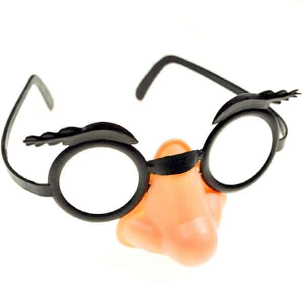 Nose & Glasses Disguise kit