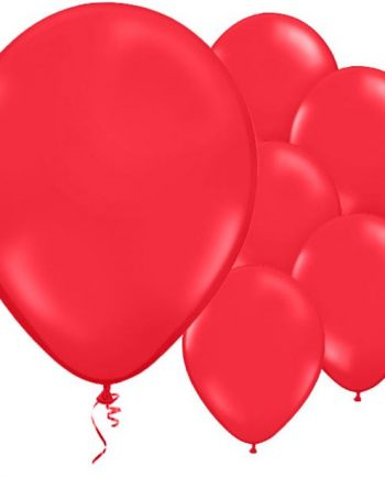 Poppy Red Latex Balloons