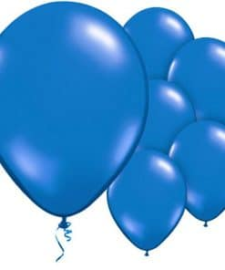 Rich Blue Latex Balloons
