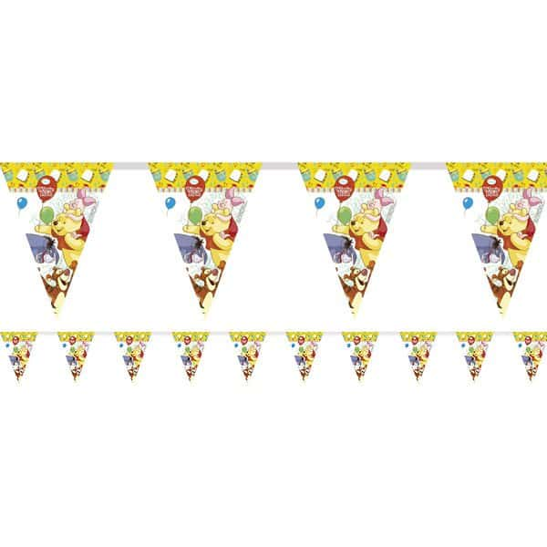 Winnie The Pooh Party Plastic Bunting