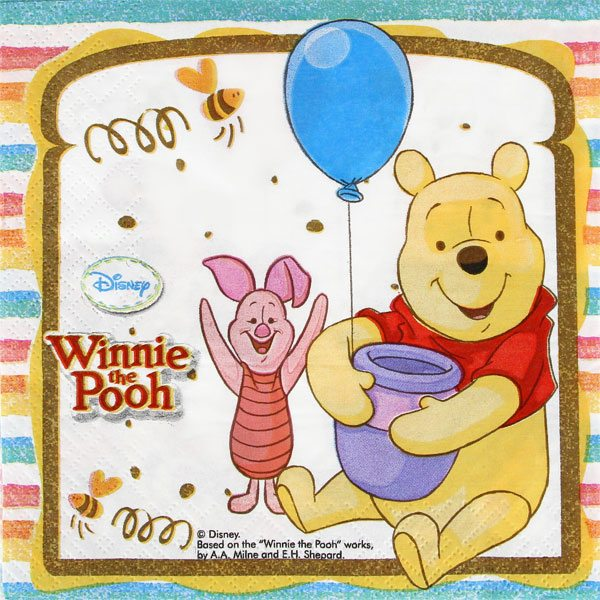 Winnie The Pooh Party Lunch Napkin