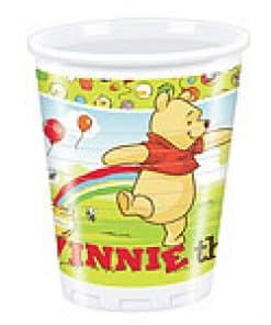 Winnie The Pooh Party Plastic Cups