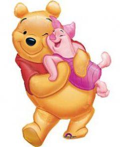 Winnie the Pooh & Piglet Foil Balloon