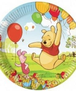Winnie the Pooh Party Paper Plates