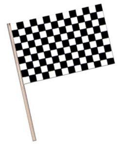 Waving Racing Flags