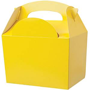 Yellow Food Party Box
