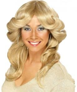 70's Flick Wig - Blonde
