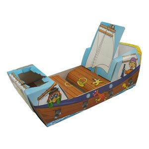 Pirate Ship Combi Food Tray