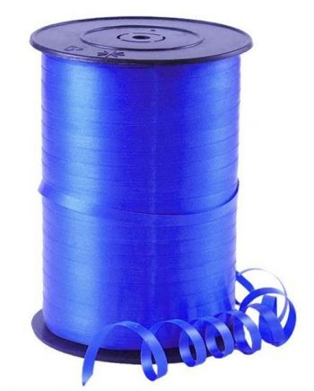 Royal Blue Curling Balloon Ribbon