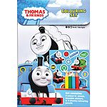 Thomas The Tank Engine Colouring Set