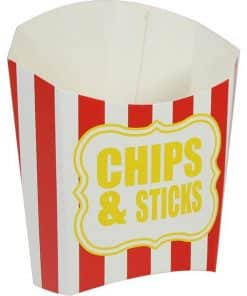 Chips & Sticks Red Stripe Chip Scoop