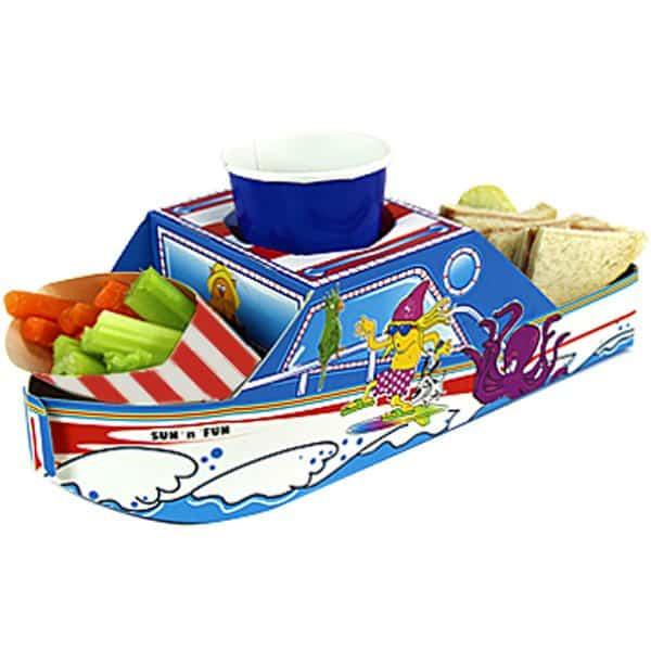 Boat Combi Food Tray - 32cm long