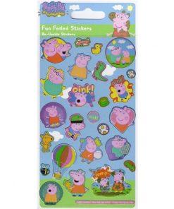 Peppa Pig Fun Foiled Stickers