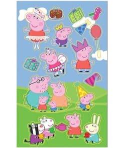 Peppa Pig Sticker Sheets