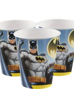 Batman Party Plastic Cups