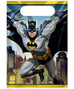 Batman Party Plastic Loot Bags