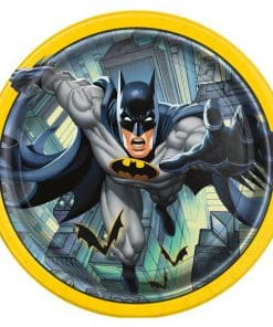 Batman Party Paper Plates
