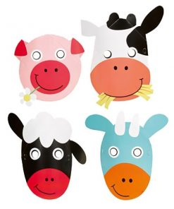 Farm Fun Party Masks