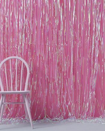 Iridescent Party Fringe Door Decoration - 1m