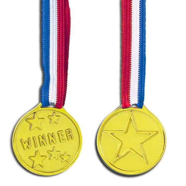 Winners Award Medals