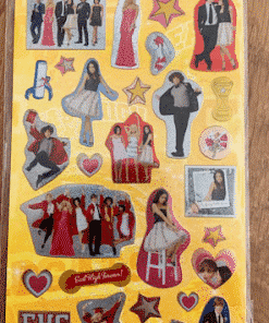 High School Musical 3 Party Stickers