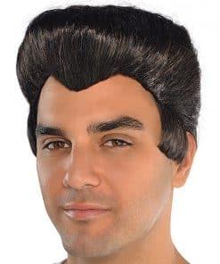 50's Greaser Black Wig