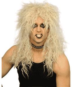 Hard Rocker Blonde Adult Wig