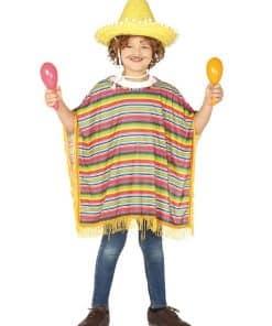 Mexican Poncho Child Costume