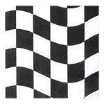Racing Checked Flag Napkins
