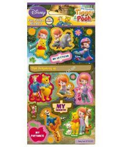 Winnie The Pooh Sticker Sheet