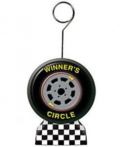 Motor Racing Tyre Shaped Balloon Weight