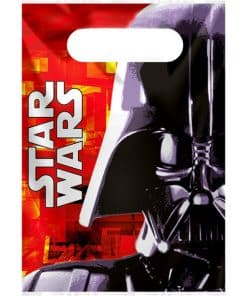 Star Wars Party Plastic Loot Bags