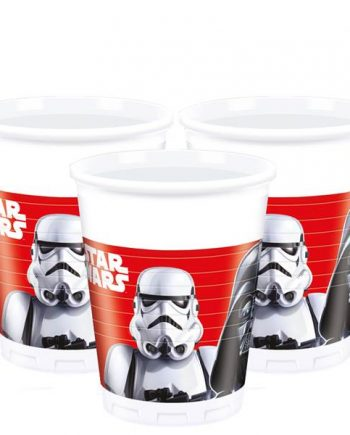 Star Wars Plastic Party Cups