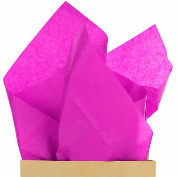 Bright Pink Magenta Tissue Paper