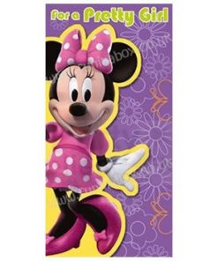 Minnie Mouse Themed Birthday Card