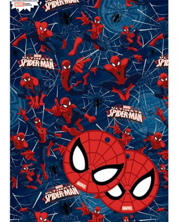 Spider-Man Wrapping Paper & Tags