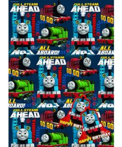 Thomas The Tank Engine Wrapping Paper & Tags
